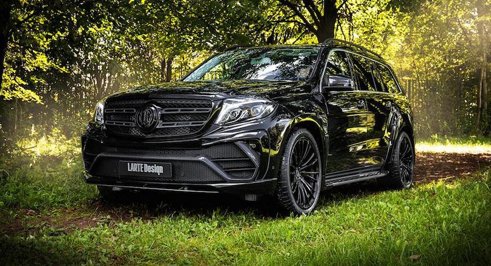 'Black Crystal': El monstruoso Mercedes-Benz GLS de LARTE Design que te pondrá los pelos de punta