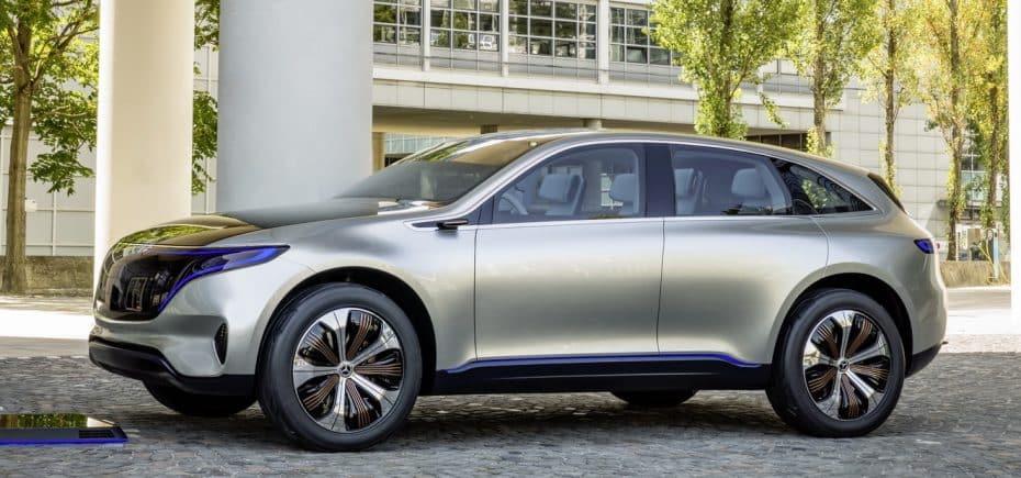 Mercedes-Benz desvela el EQ: Un SUV eléctrico de corte deportivo con una autonomía de 500 kilómetros