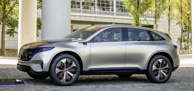 Mercedes benz desvela el eq un suv el ctrico de corte for Mercedes benz deportivo