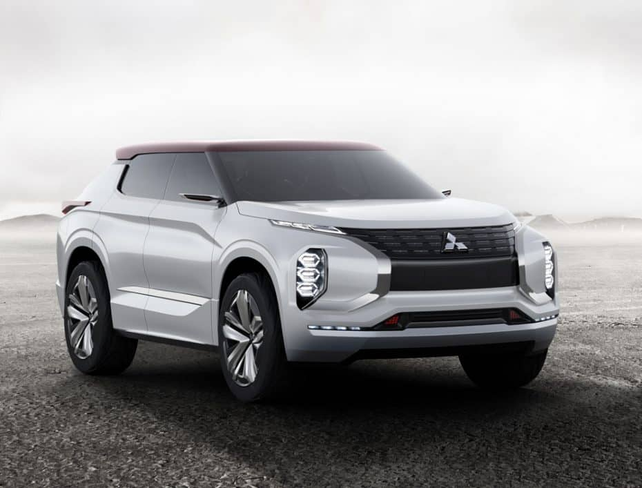 Mitsubishi desvela el GT-PHEV Concept: su gran apuesta híbrida para el Salón de París 2016