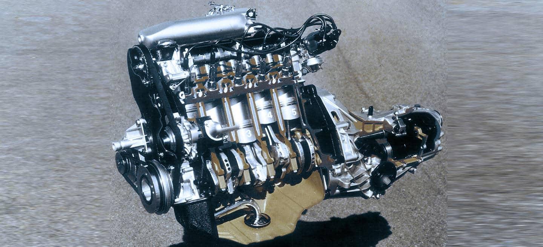 Motor cinco cilindros Audi