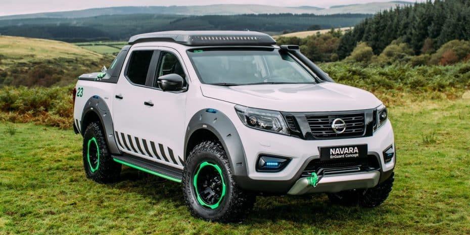 Nissan Navara EnGuard Concept: La máquina perfecta de rescate ¡Viene hasta con un Dron incluido!