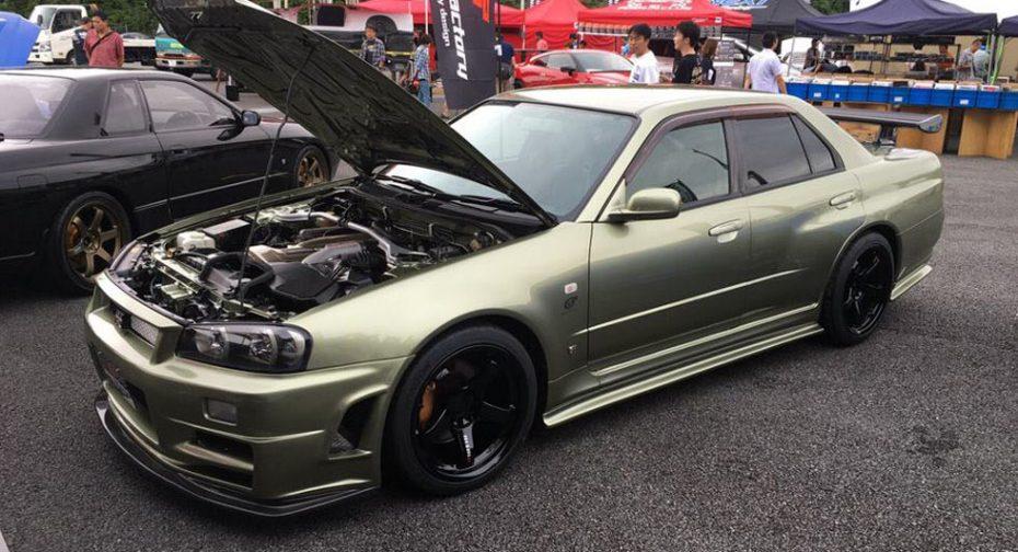 Cambio radical: ¡Así es como se ha convertido un Nissan Skyline en un GT-R R34 de cuatro puertas!