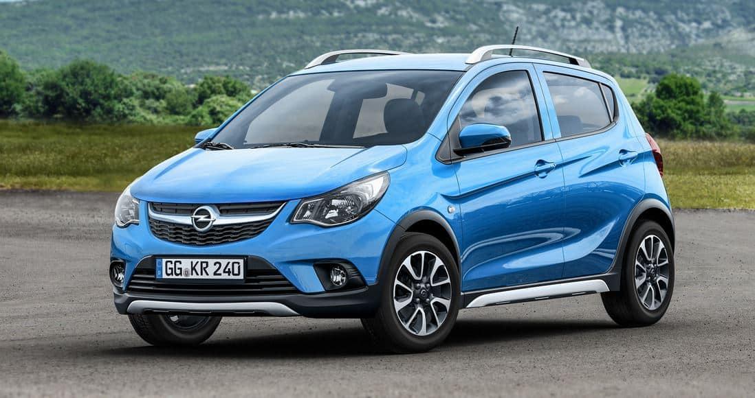 """Así es el Opel Karl Rocks, la versión """"campera"""" más asequible de Opel…"""