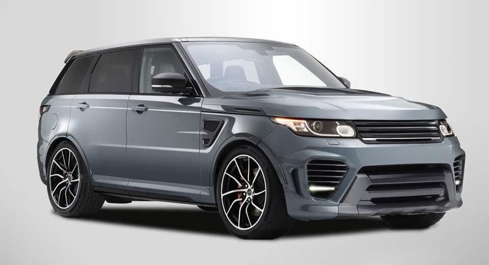 ¿Se puede mejorar un Range Rover Sport SVR? Sí, pero la 'broma' partirá de los 211.668 euros