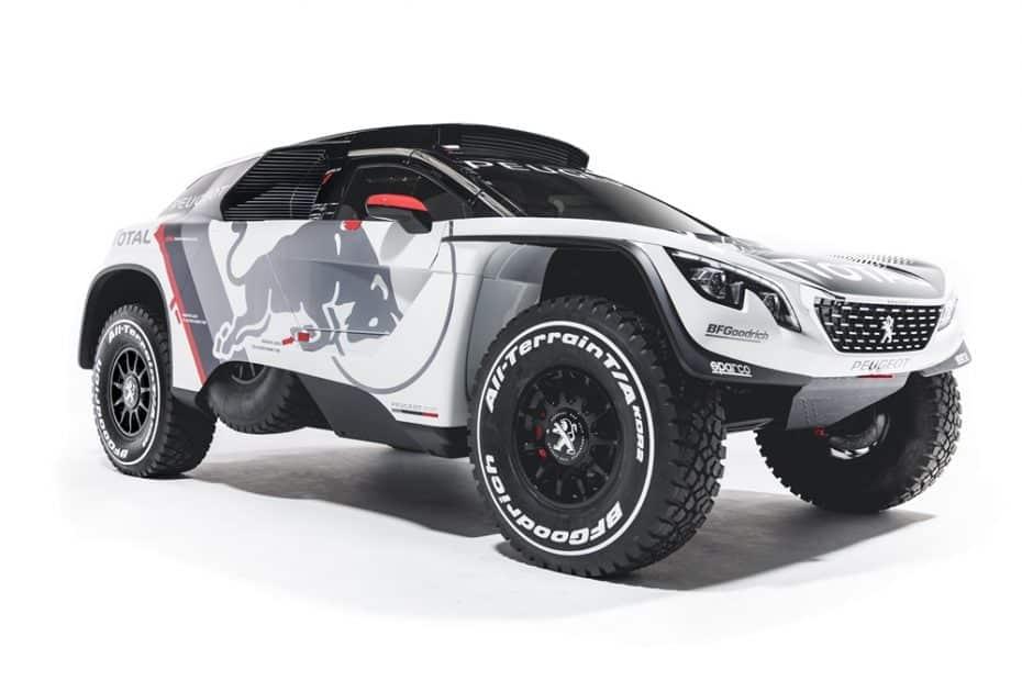 Saluda al Peugeot 3008 DKR: El nuevo 'juguete' de Carlos Sainz para el Dakar 2017