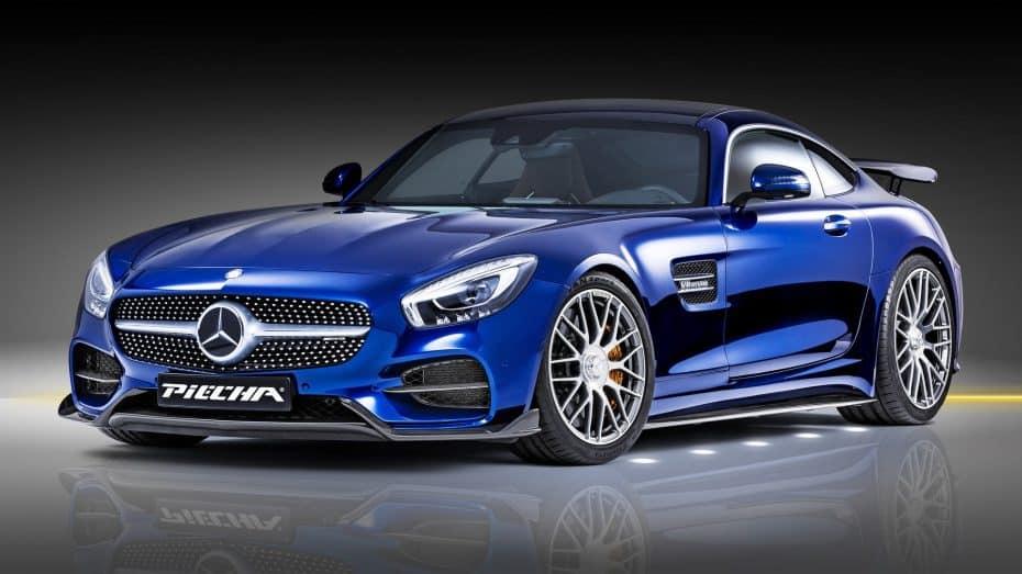 Piecha nos presenta el Mercedes-AMG GT-RSR: ¡620 CV y un alerón doble para el superdeportivo!