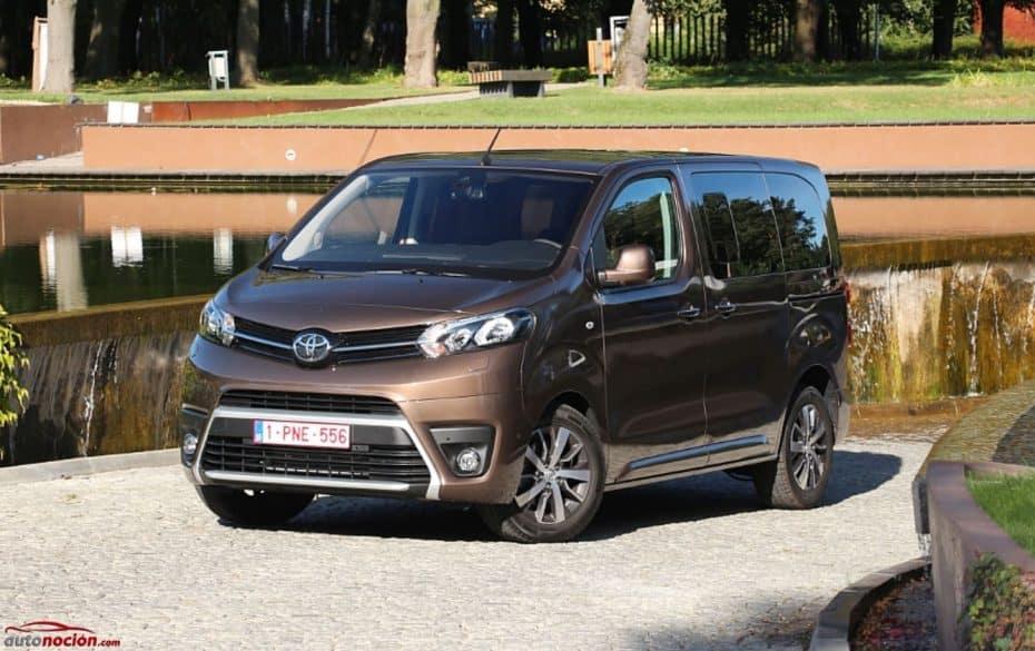 Presentación y contacto Toyota Proace: Un comercial para todos los públicos