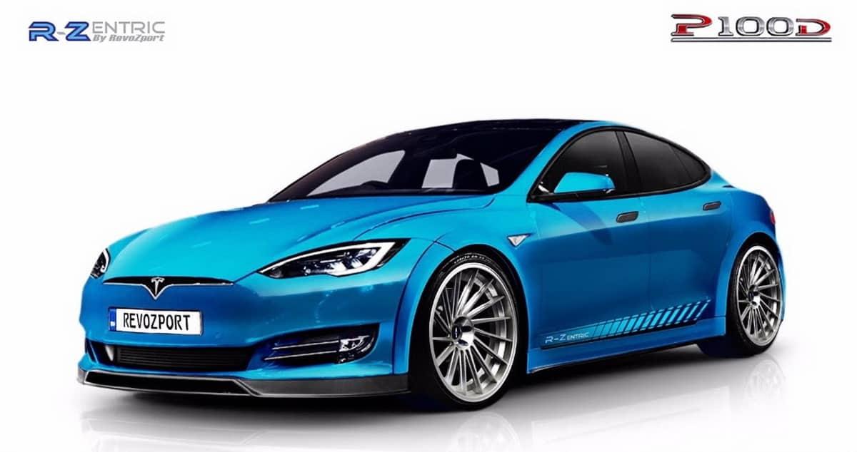 RevoZport transforma el Tesla Model S PD100: El coche de producción ...