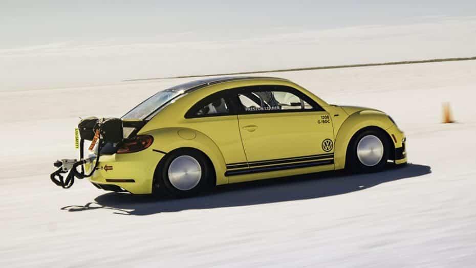 Saluda al Volkswagen Beetle más rápido del mundo: Este Escarabajo esconde 550 CV en sus entrañas