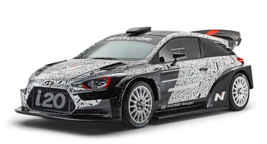 Hyundai Motorsport nos desvela el 2017 WRC: Inspirado en Hyundai i20 de tres puertas ¡Brutal!