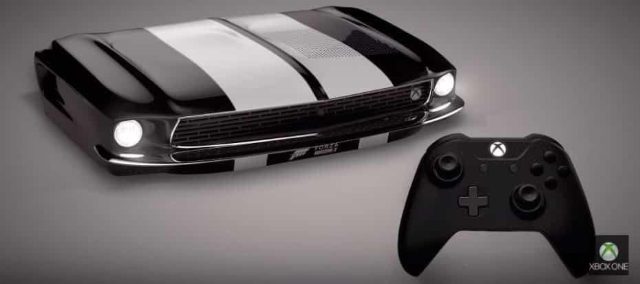 ¿Esto es una Xbox One o un Ford Mustang? ¡Ojo a los últimos diseños de Xbox para sus consolas!