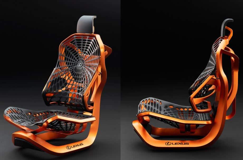 No sabemos si es el asiento del futuro pero este diseño de Lexus nos gusta…