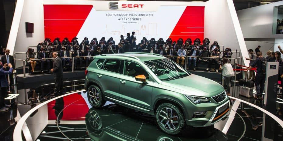 El nuevo SUV pequeño de SEAT se denominará Arona: Llegará el próximo verano