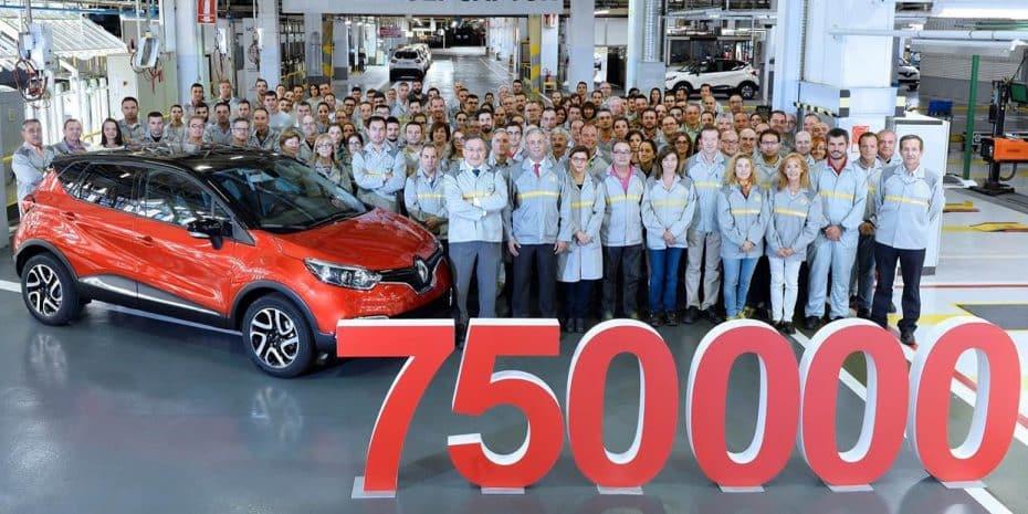 Renault Valladolid produce la unidad 750.000 del Captur: Excelente dato para el crossover
