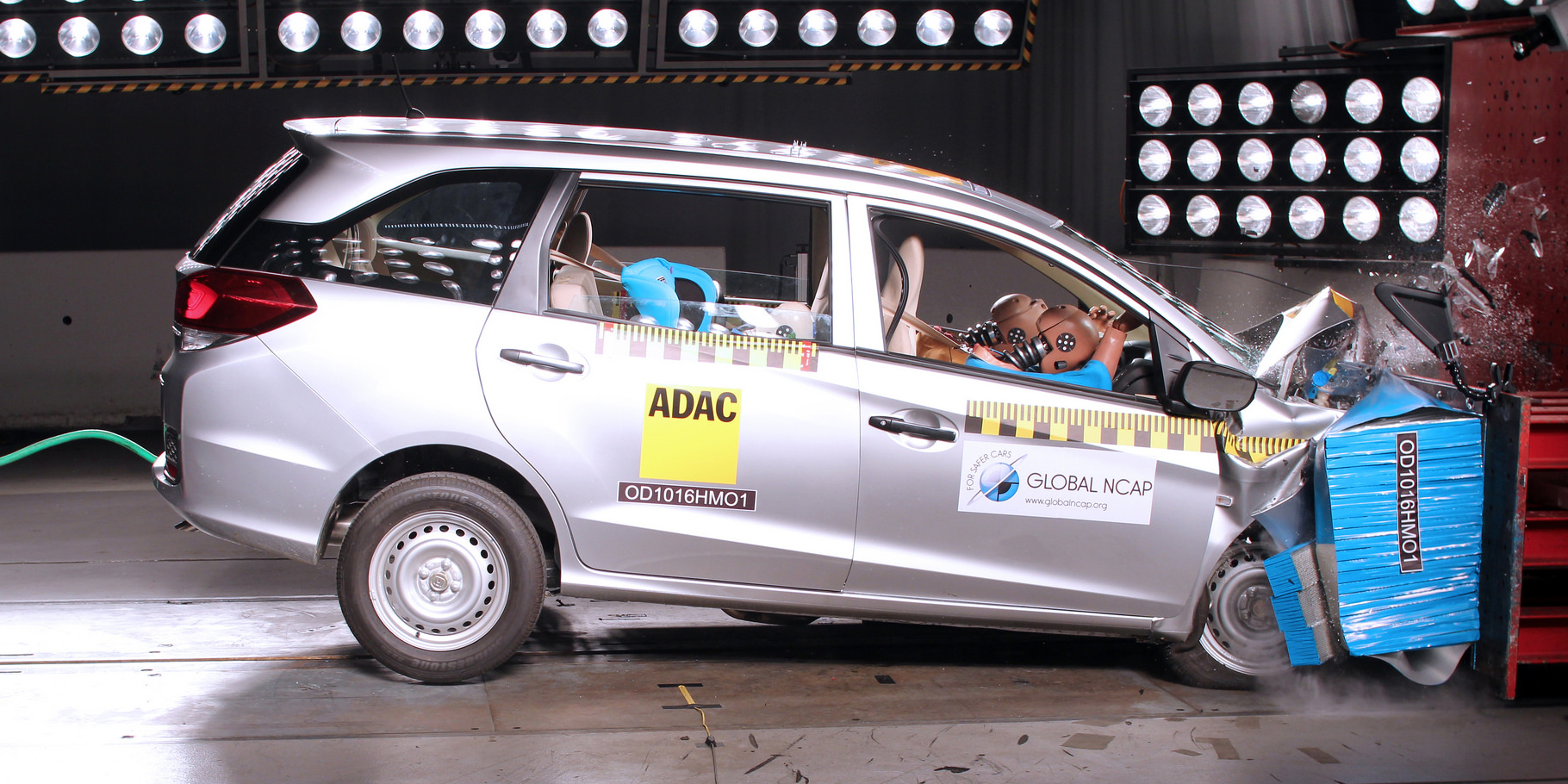Batacazo para Honda en Global NCap: El Mobilio no logra ni una sola estrella