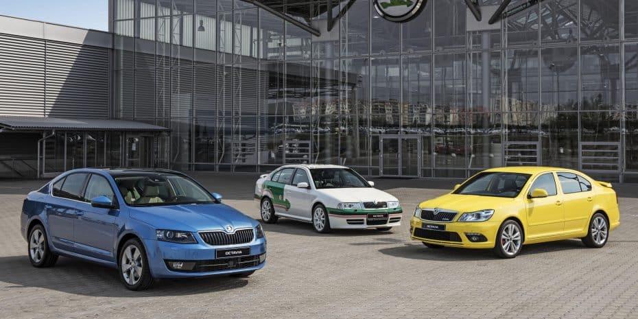 20 años han pasado desde el lanzamiento del Skoda Octavia: El mayor éxito de la marca