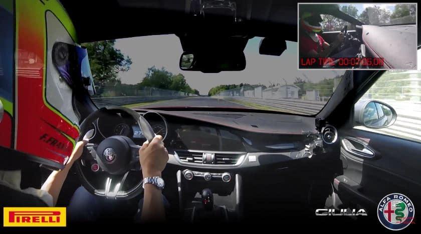 ¡Nuevo Récord!: El Alfa Romeo Giulia azota al Porsche Panamera Turbo en Nürburgring…