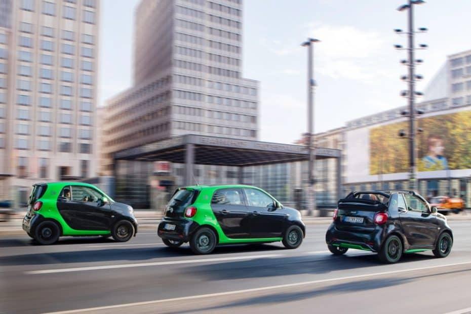 Arranca la comercialización de los eléctricos de Smart: Más de 23.000 € y cero emisiones