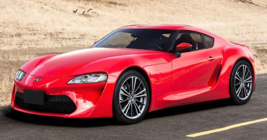 ¿Podría ser este el aspecto casi definitivo del Toyota «Supra» 2017?