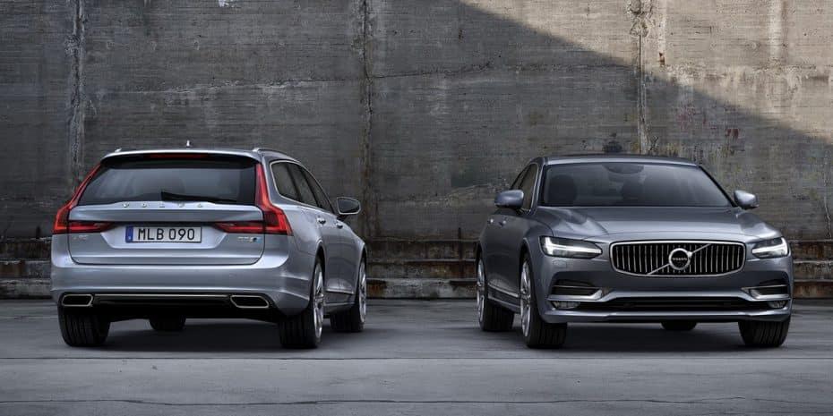 Los Volvo S90 y V90 reciben el «Polestar Performance Package»