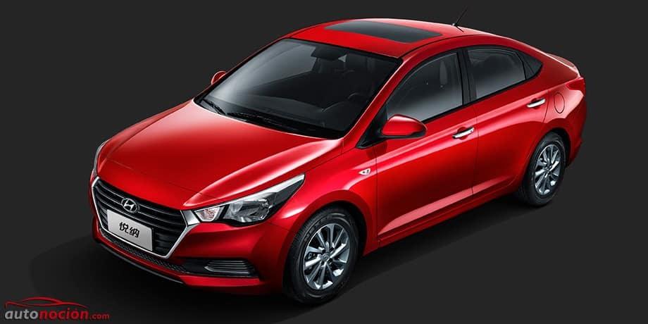 Así es la nueva generación del Hyundai Accent: Para China por ahora