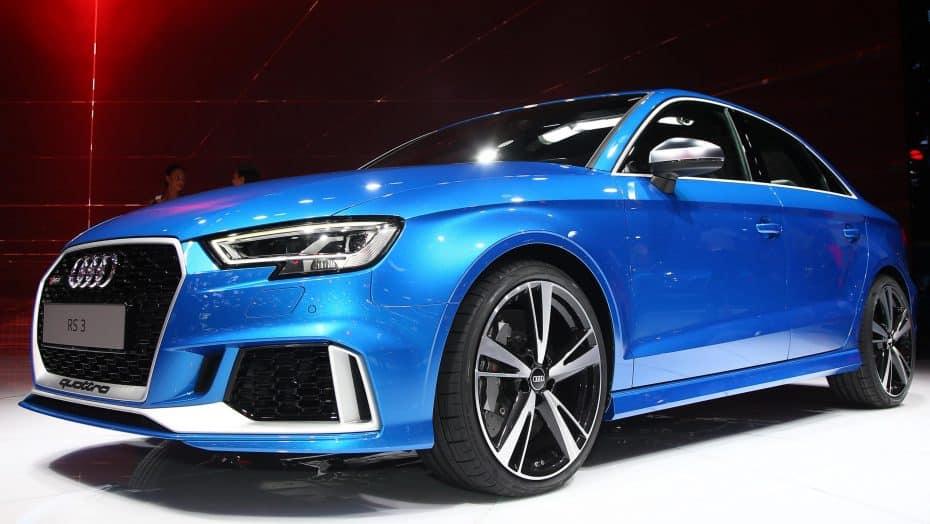 El Audi RS3 Sedán resulta muy imponente al natural