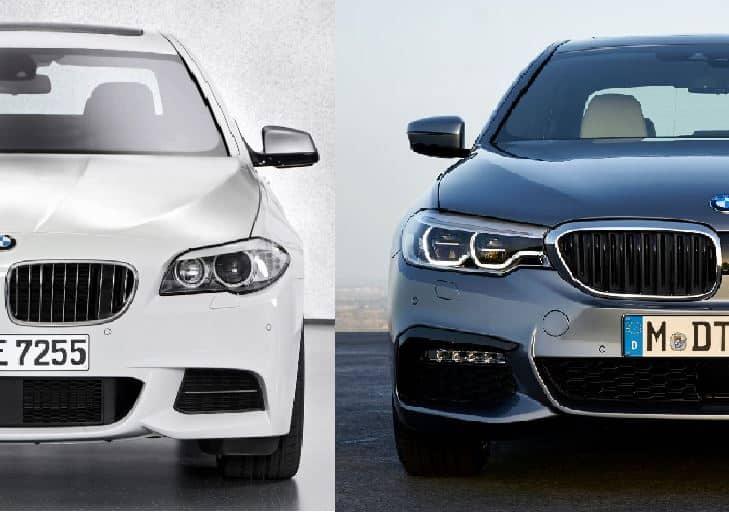 Comparación visual: Juzga tú mismo, esto es lo que ha cambiado el BMW Serie 5