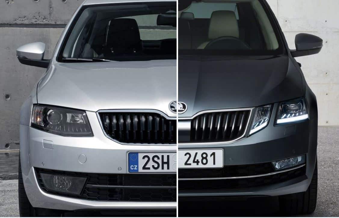 Comparación visual: Juzga tú mismo, esto es lo que ha cambiado el Skoda Octavia tras el restyling