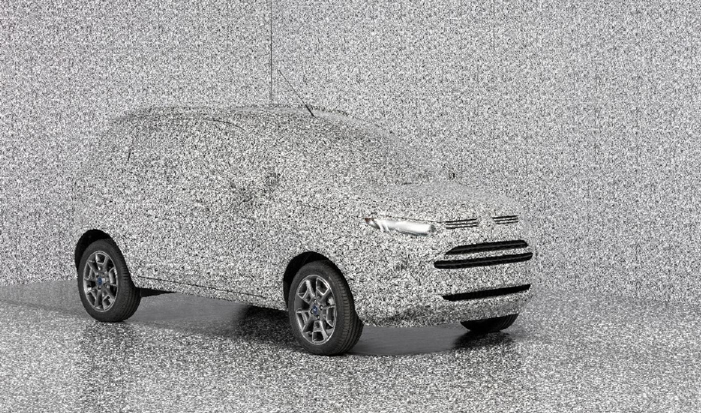 ¡Fuera cámaras, cotillas y espías!: Ford desarrolla un nuevo camuflaje 3D