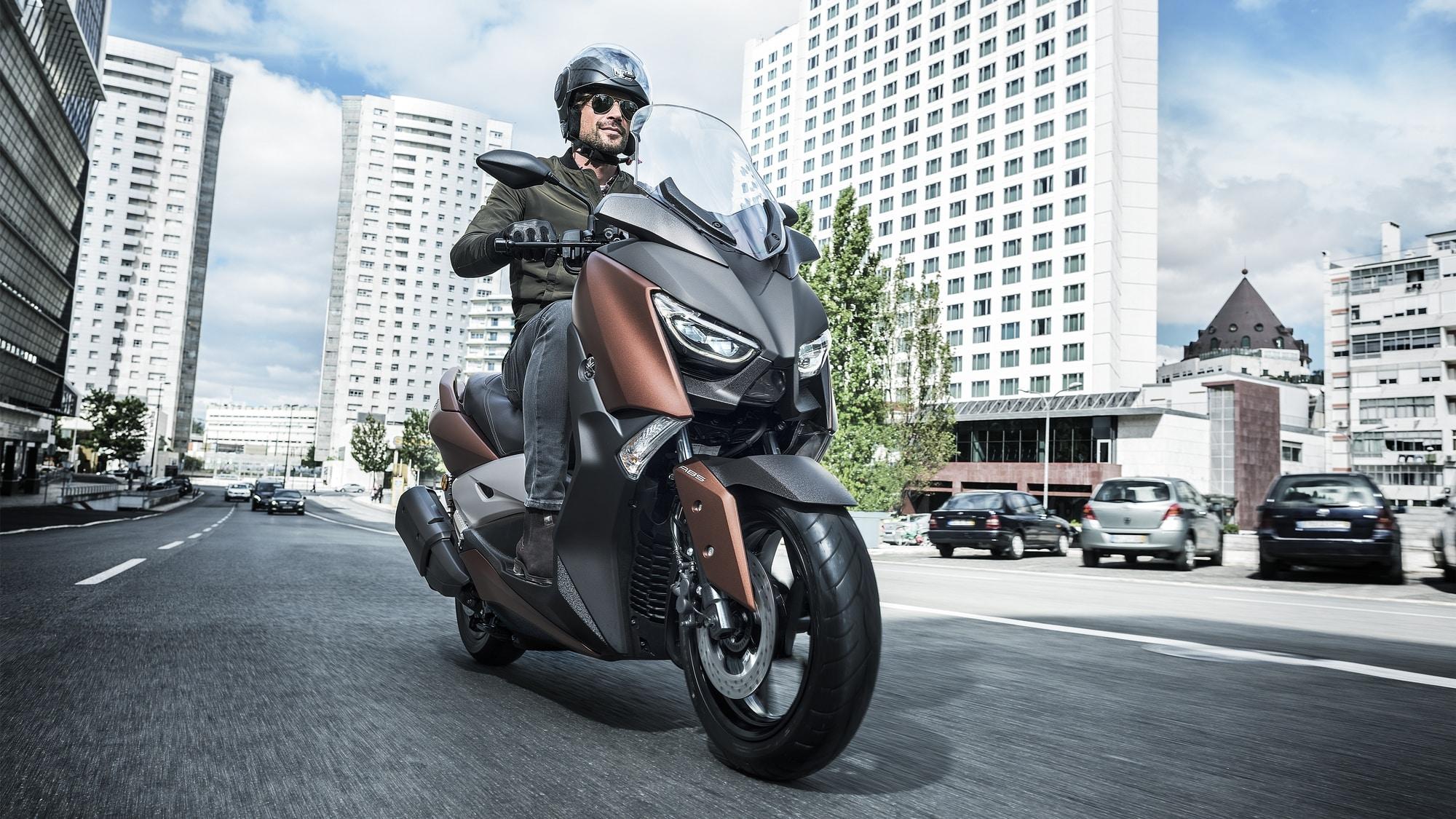 Así es el nuevo Yamaha X-Max 300 que llegará en primavera: Éxito asegurado