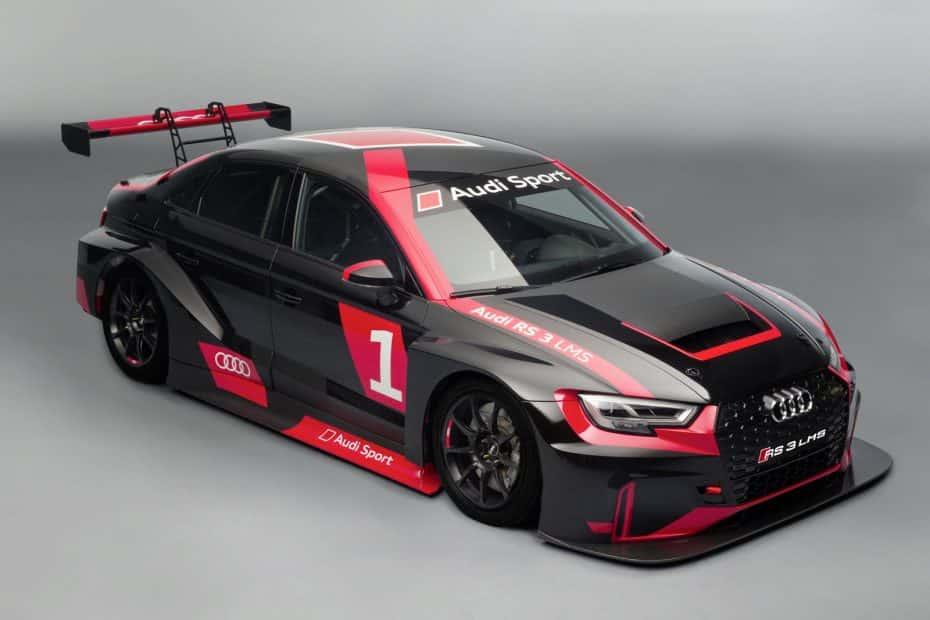 Audi RS3 LMS: ¡Ha llegado la monstruosa máquina alemana para arrasar en circuito!