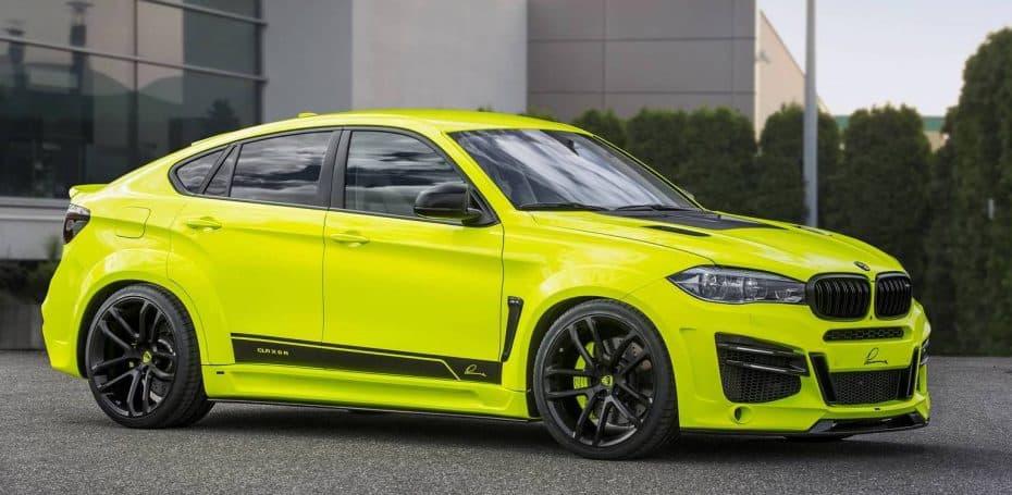Sí, parece el primo de Pikachu ¡Pero este BMW X6M puede superar holgadamente los 300 km/h!