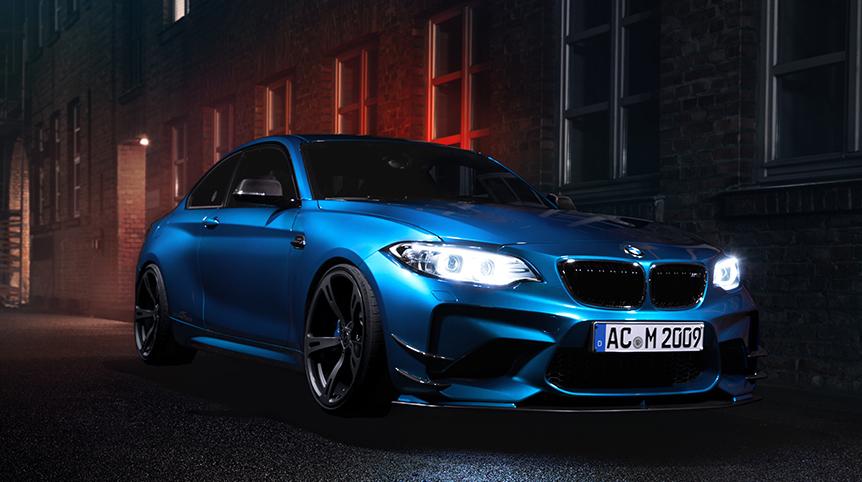 ¿No es suficientemente agresivo tu BMW M2? AC Schnitzer te lo radicaliza hasta los 420 CV