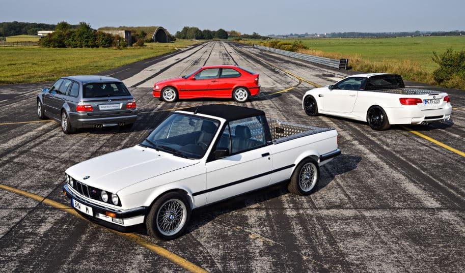 ¿Sabías de la existencia de estos cuatro prototipos con alma de BMW M3?