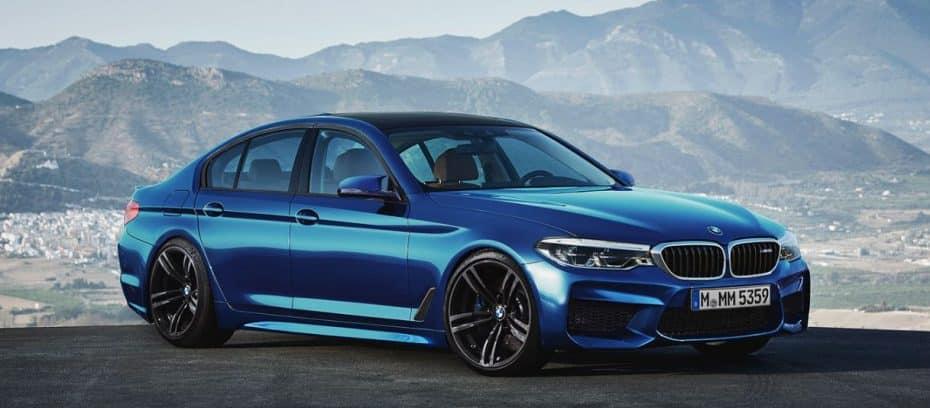 Si te gusta el nuevo BMW Serie 5, empieza a babear con su versión más picante: El BMW M5