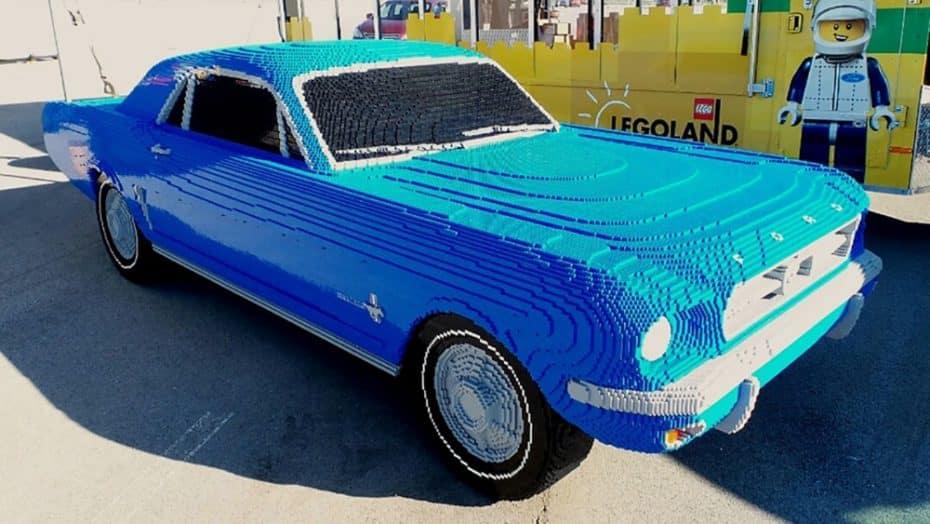 Juguetes para adultos: Te encantaría tener este Ford Mustang de LEGO a escala real ¡Y lo sabes!