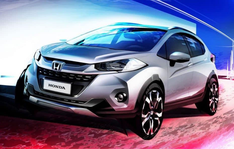 Primeros detalles del Honda WR-V: El acceso a la familia SUV toma forma