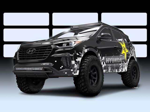 Hyundai apunta muy alto en esta edición del SEMA Show ¡Su nueva bestia es obra de Rockstar!