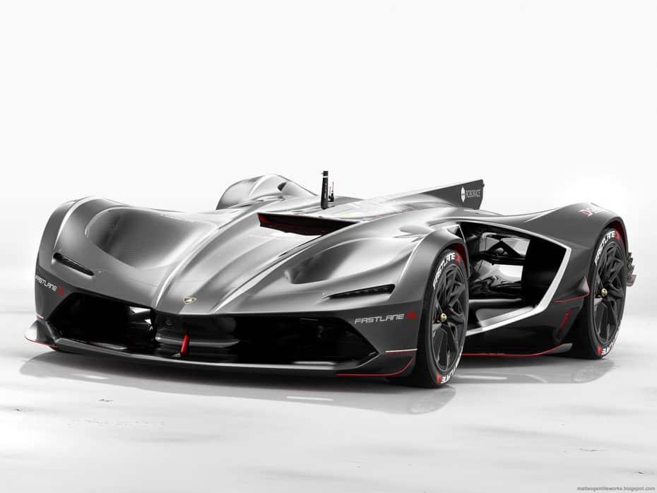 Probablemente nunca será una realidad, pero se te caerá la baba con este Lamborghini Spectro Racer