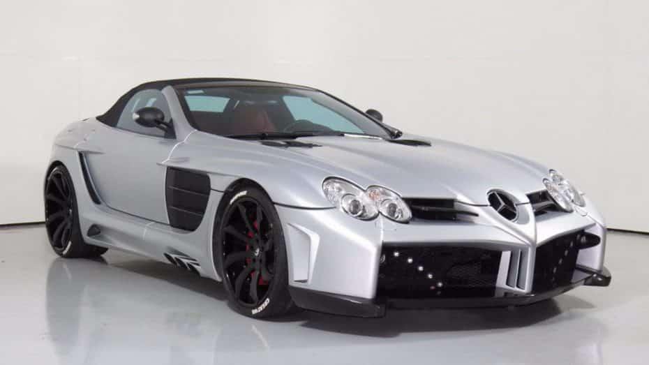¿Invertirías 440.000 euros en este Mercedes-McLaren SLR Roadster 'made in' FabDesign?