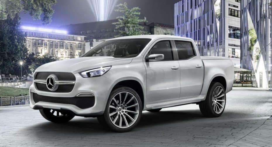 Mercedes-Benz ConceptX-CLASS: «Di adiós a la moda SUV y hola a la moda pickup»…