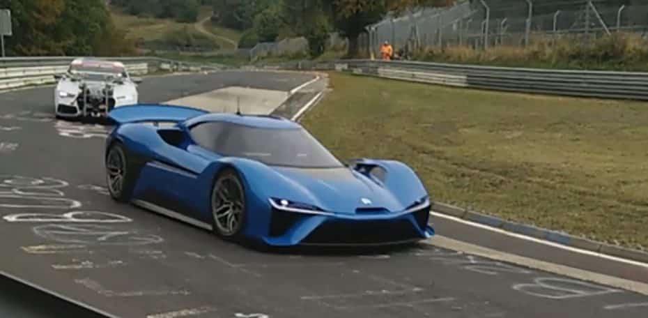El superdeportivo de Next EV se deja ver en vídeo: 1.340 CV y una imagen imponente para el eléctrico