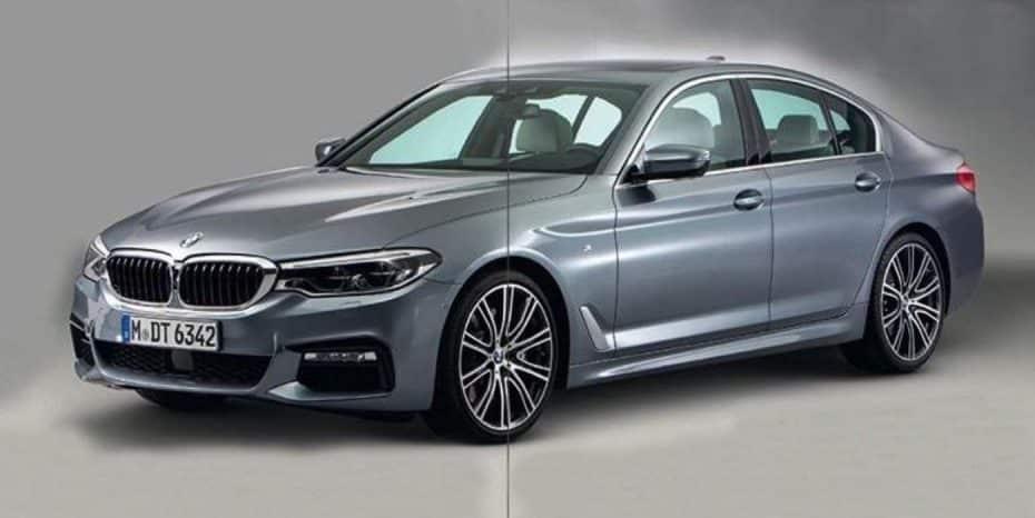 ¿Filtrado?: Parece que estas son las primeras imágenes del nuevo BMW Serie 5