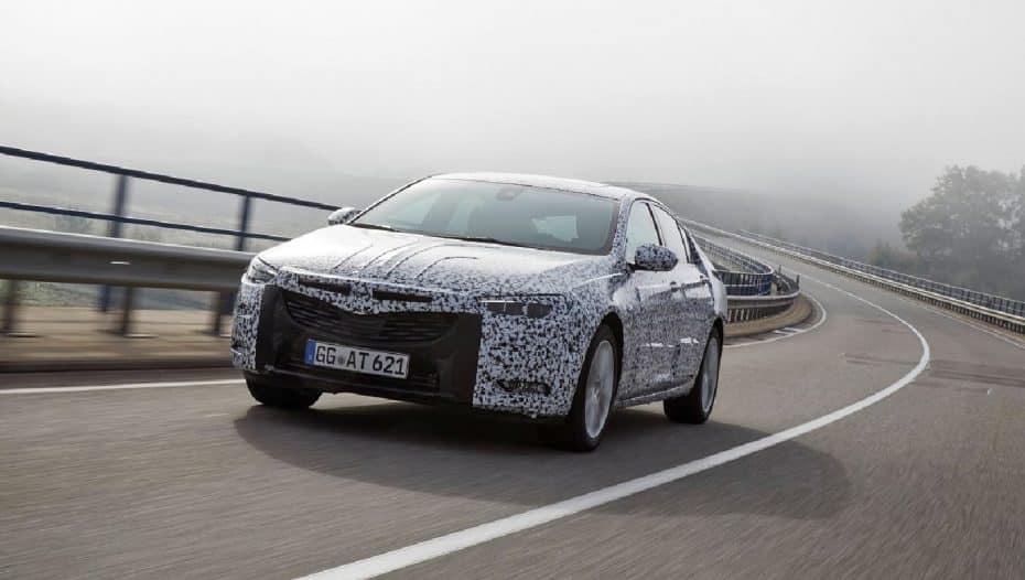 Opel Insignia Grand Sport: El relevo será 175 kg más ligero, más habitable y más tecnológico