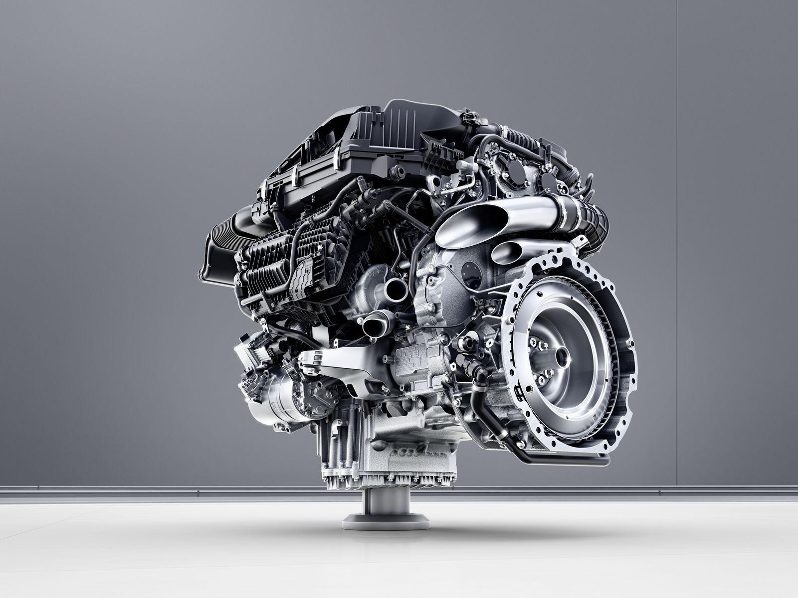Mercedes renovará su gama mecánica en 2017: Vuelven los 6 en línea cargados de tecnología