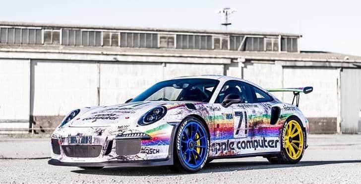 Un Porsche 911 GT3 RS único: Un gran tributo al 935 K3 de los años 80′ esponsorizado por Apple