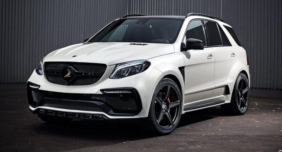 TopCar transformará tu Mercedes-AMG GLE 63 en una bestia con mucha garra por 17.395 euros