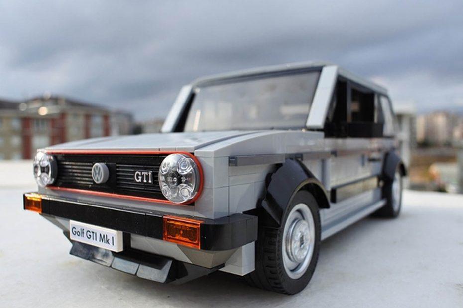 ¿Sin regalo para esta Navidad? ¡Ojo a este Volkswagen Golf GTI MK1 de LEGO y su nivel de detalle!