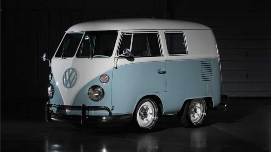 Parece un juguete, pero es real como lo vida misma: ¡Atento a esta curiosa mini Volkswagen T1!